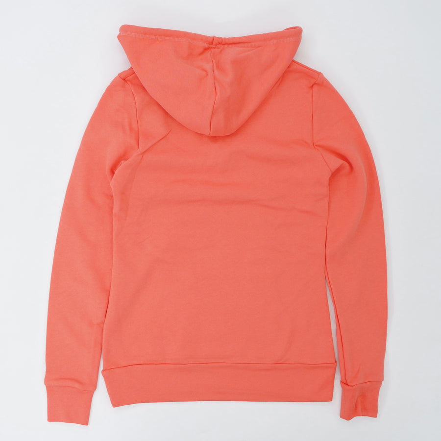 Pocket With String Hood Coral Pullover Hoodie Size XS