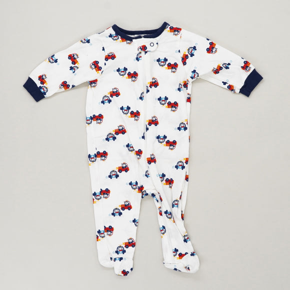Driving Bear One Piece Size 0-3M