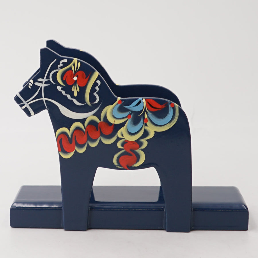 "5"" Dala Horse Napkin Holder"