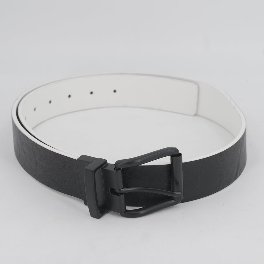White And Black Reversible Belt Size 40