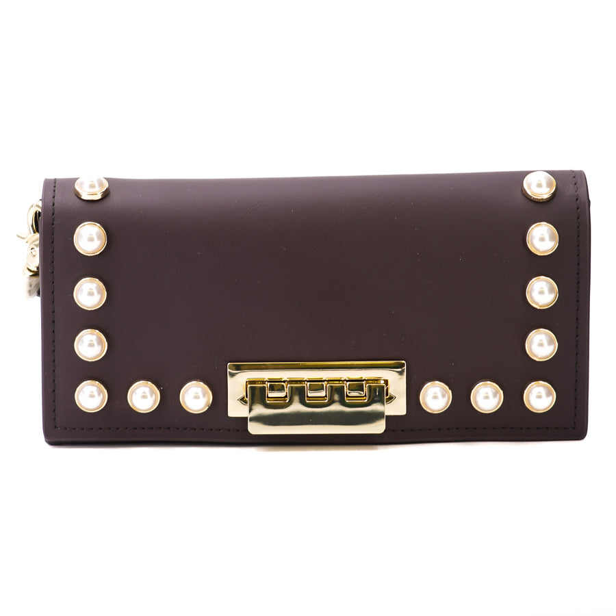 Eartha Iconic Pinot Pearl Lady Wristlet