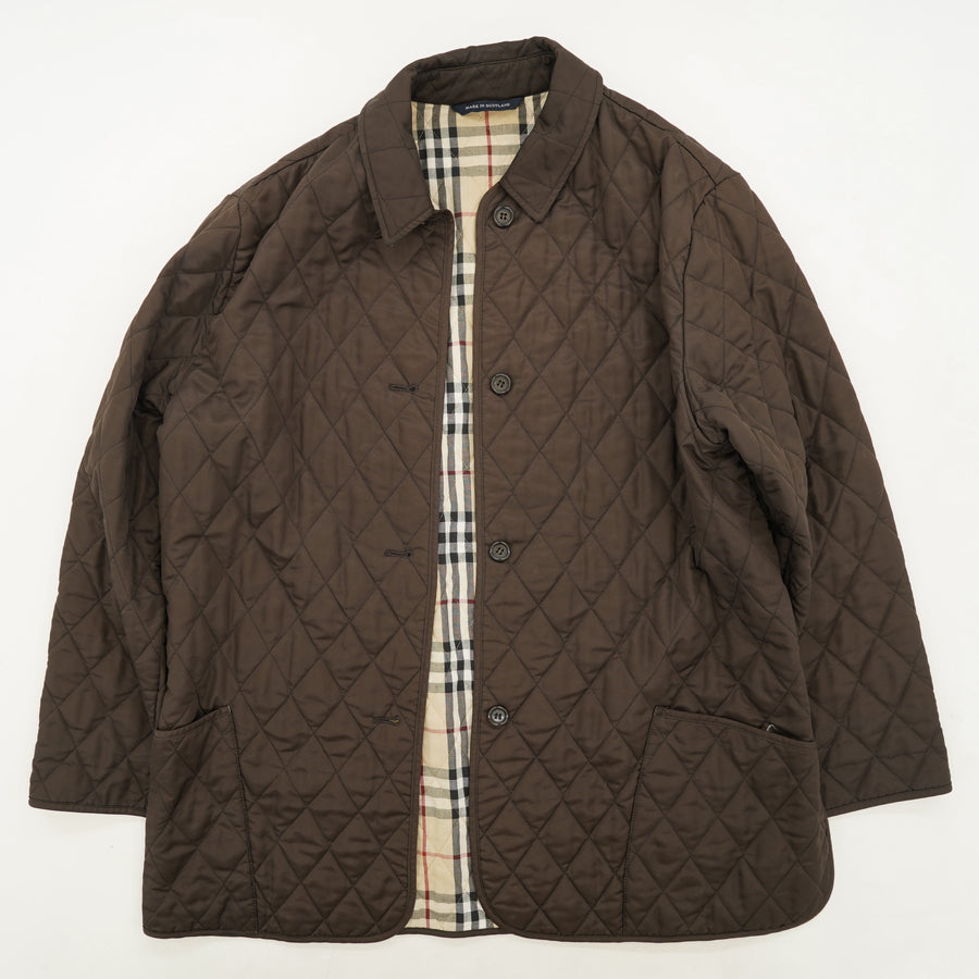 Brown Quilted Jacket Size L/XL