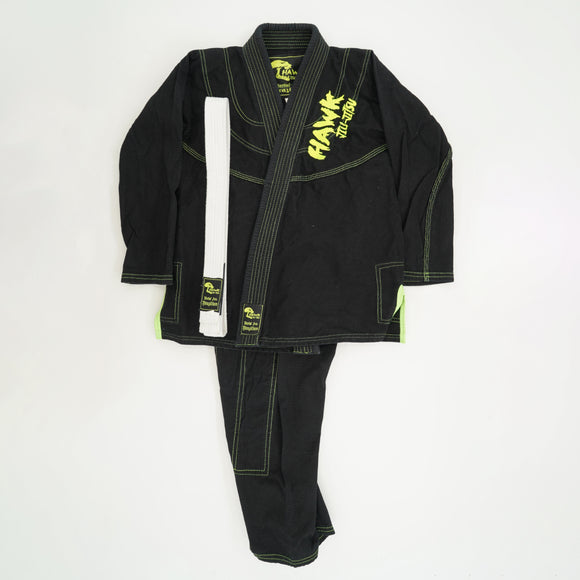 Hawk Jiu Jitsu Brazilian 3PC Martial Arts Set Size K3