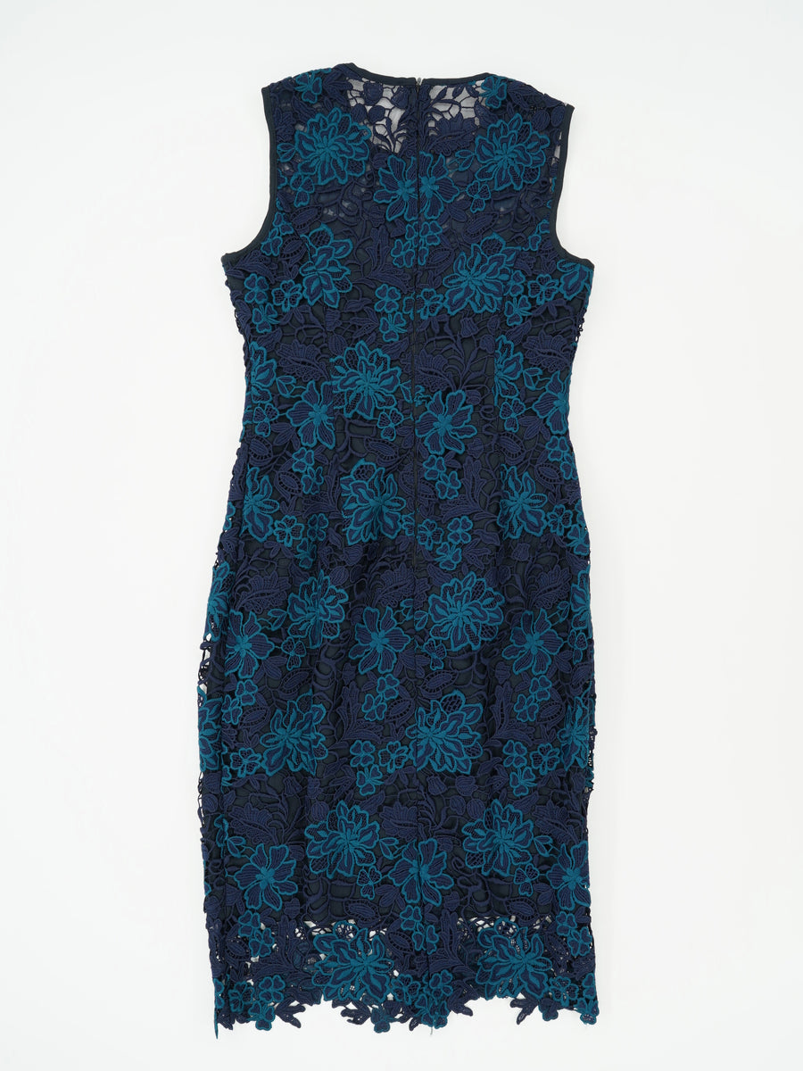Sleeveless Lace Dress Size 00