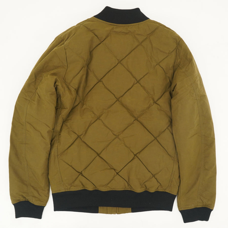 Quilted Bomber Jacket - Size M