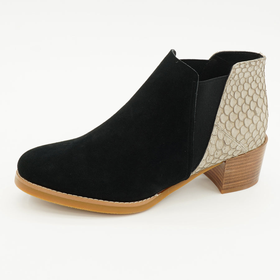 Fishman Booties Black/Taupe