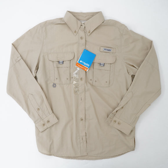 Khaki Bahama Long Sleeve Button Down Size S