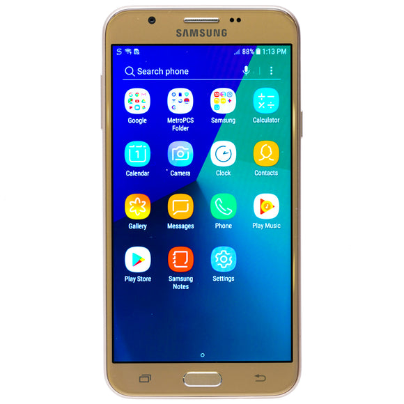 Galaxy J7 Prime 16GB Smartphone for Metro PCS Gold