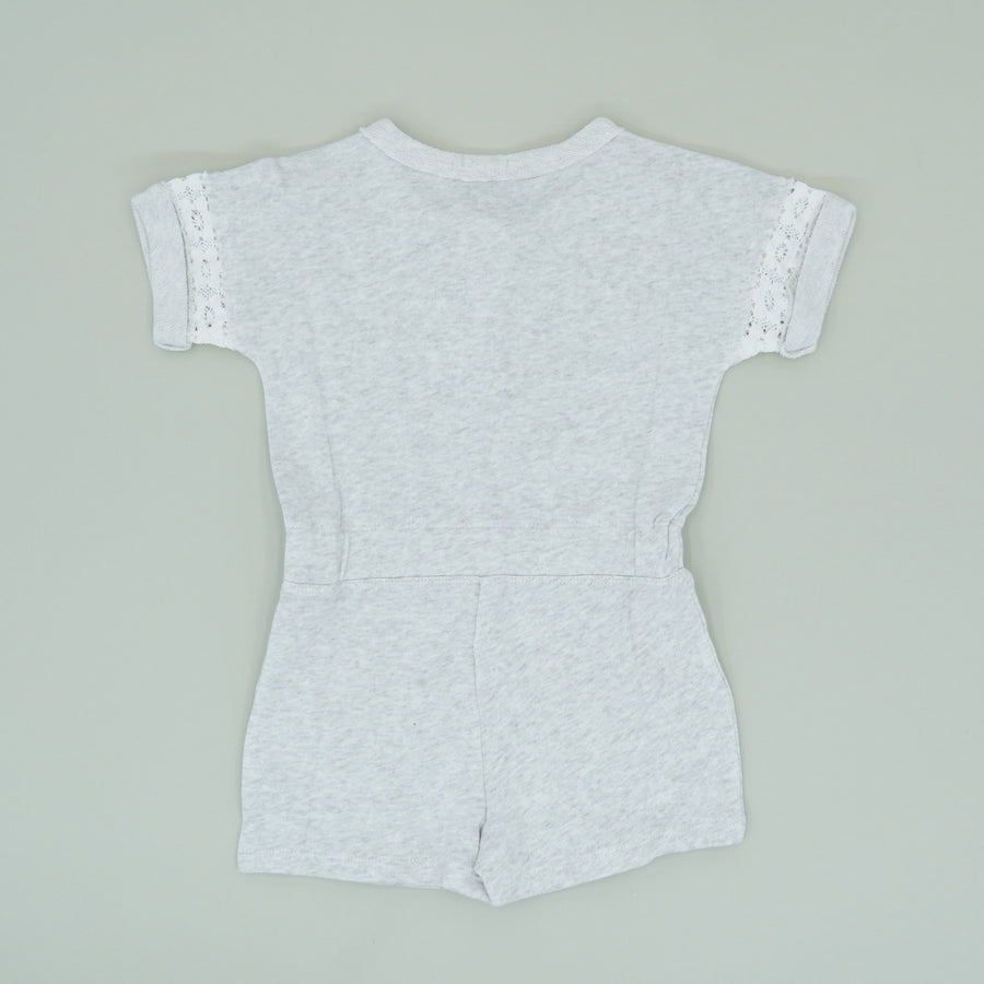 Gray Heather Romper Size 4/5