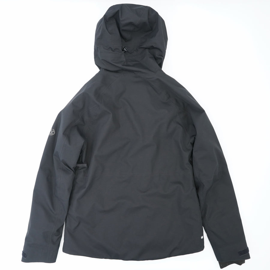 Black Hooded Glacier Jacket Size L