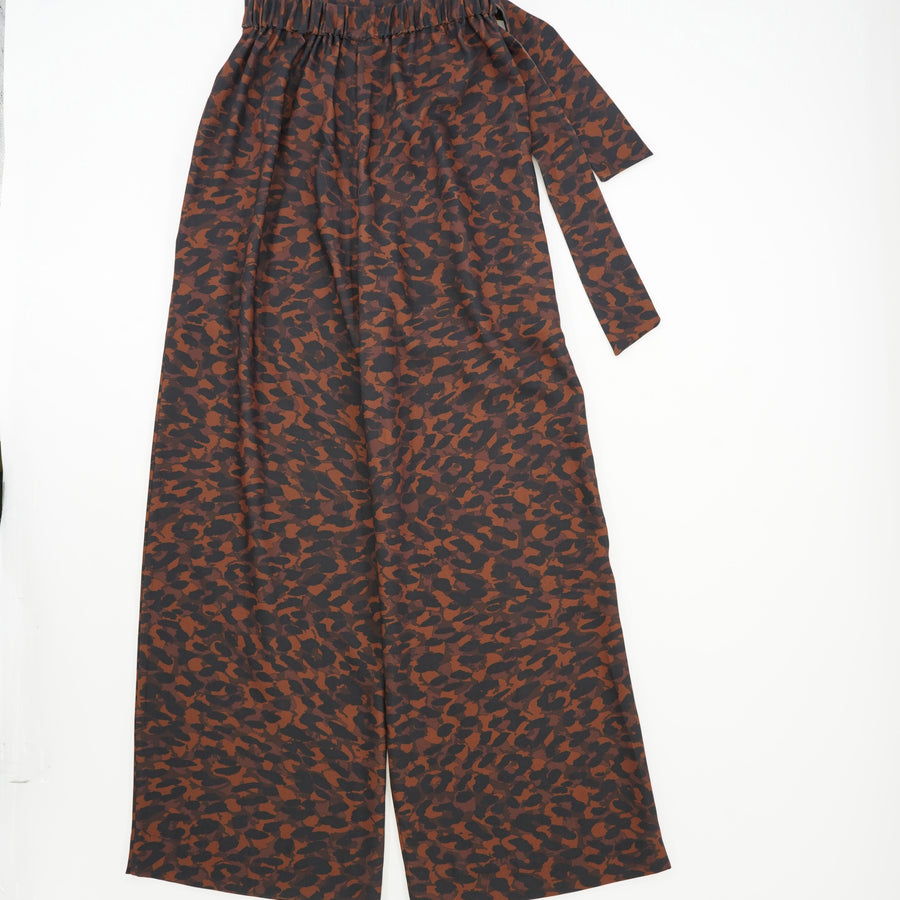 Frankie Flare Leopard Pant Size XS