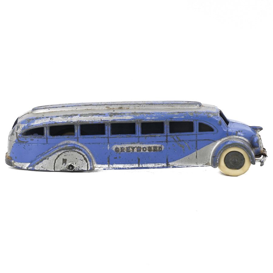 Vintage Greyhound Bus Toy