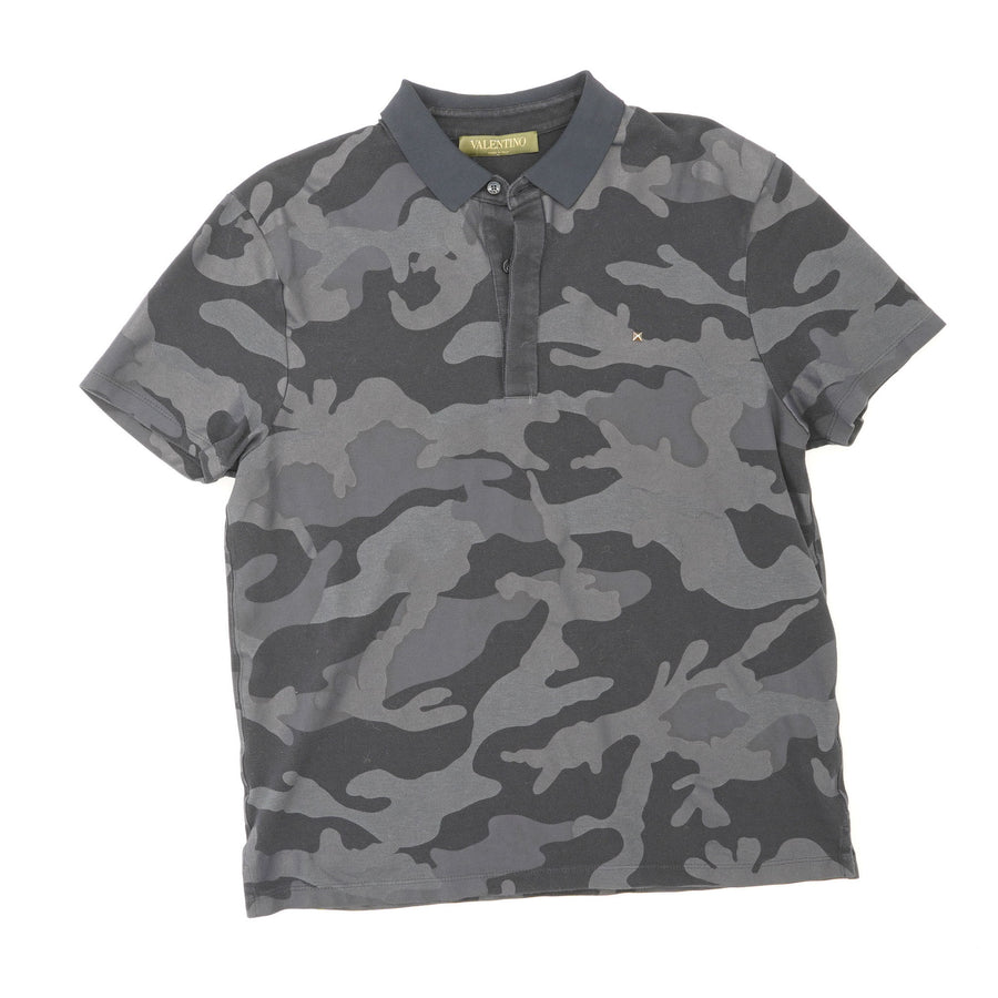 Rubberized Camouflage Polo Size M