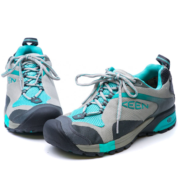 Tryon Waterproof Hiking Shoe Neutral Grey/Sea Blue