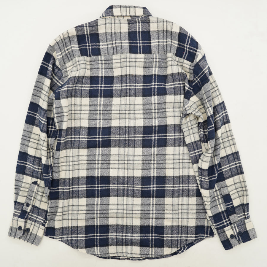 Plaid Button-Up Shirt Size M