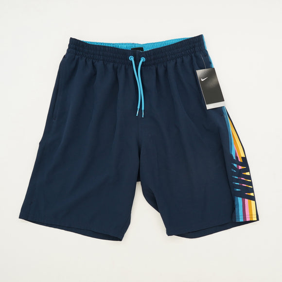 Retro Stripe Swim Shorts