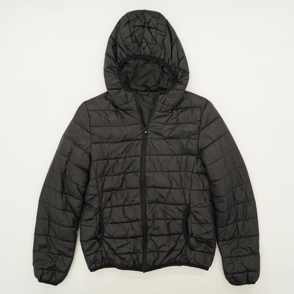 Casual Hooded Puffer Jacket Size M/L