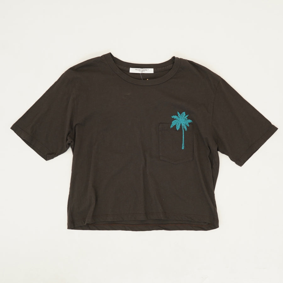 Viva La Cuba Graphic Crop Top - Size S
