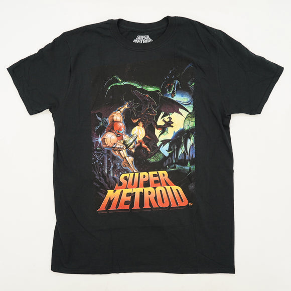 Super Metroid Graphic Tee Size L