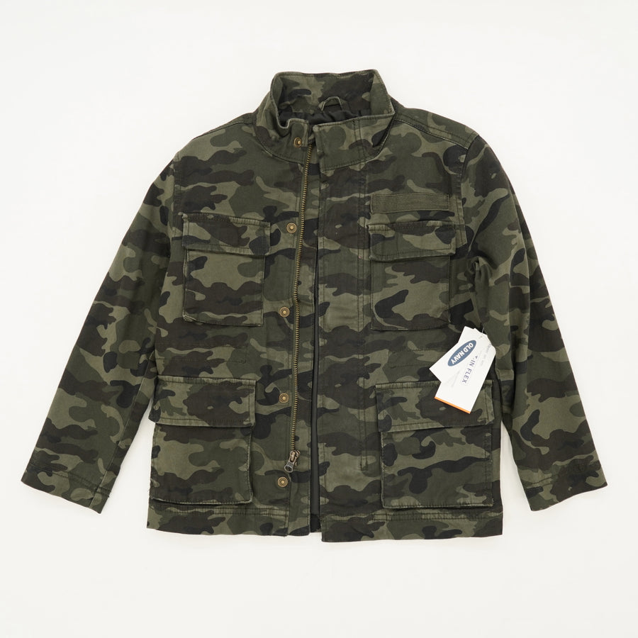 """Flex On Em"" Camo Jacket Size S"