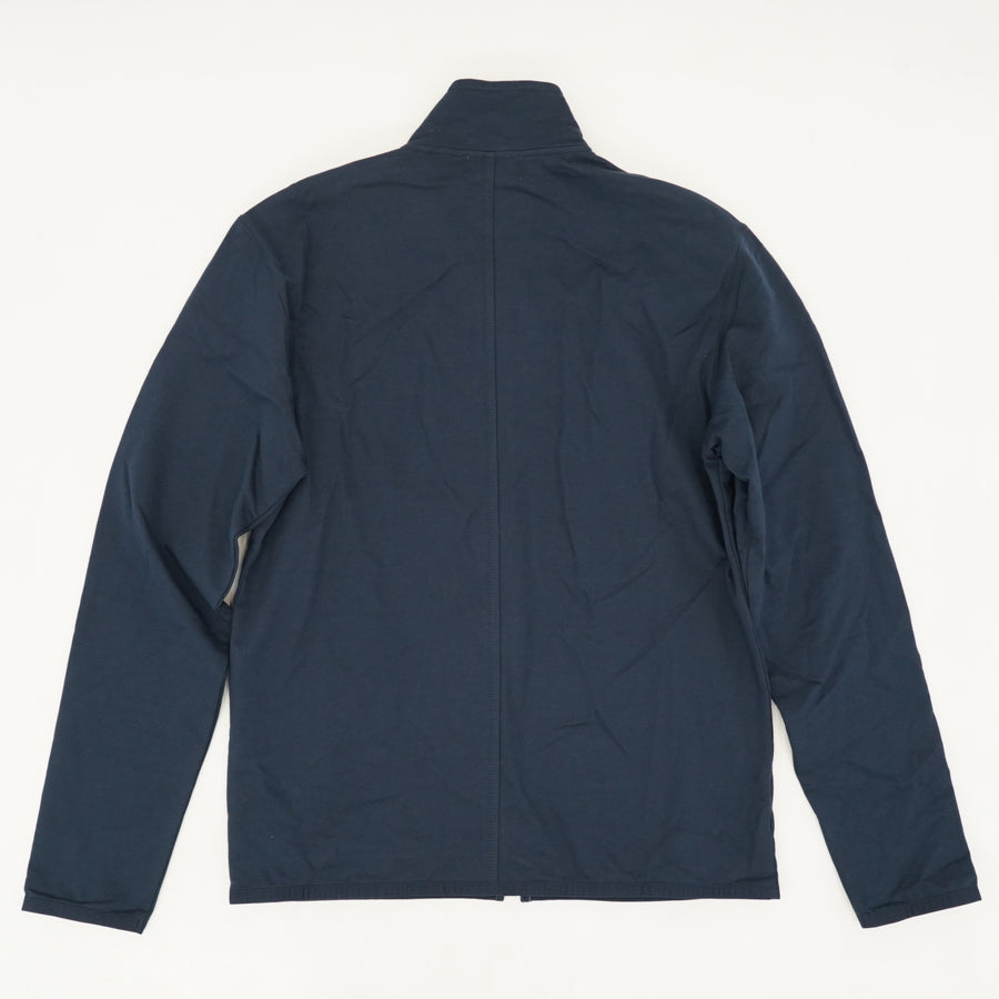 Zip-Up Mock Neck Jacket - Size S/M