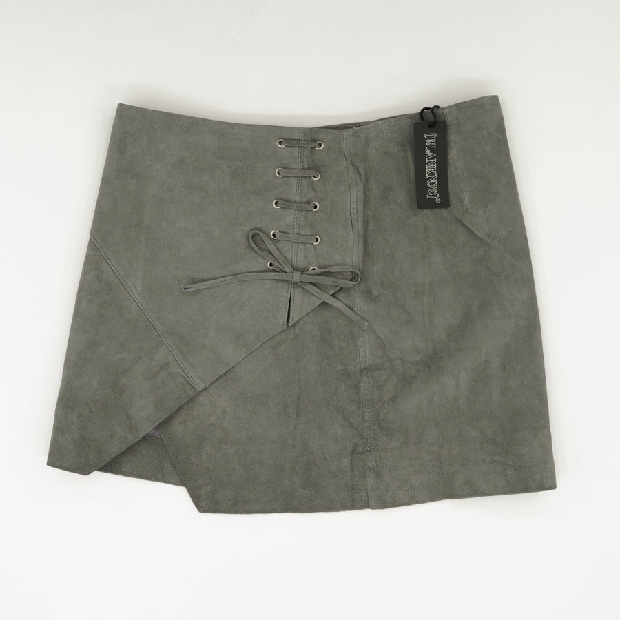 Suede Mini Skirt Size 26
