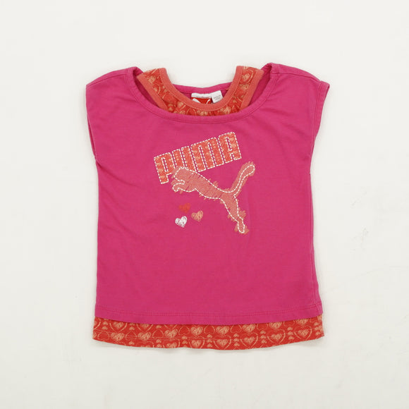 Sparkling Puma Tee Size 4T