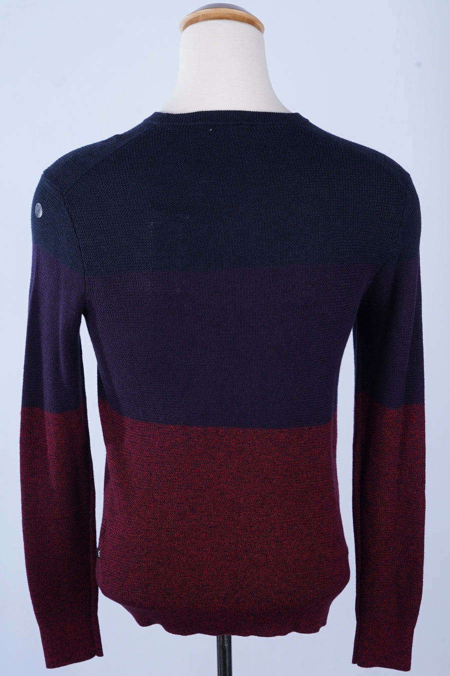 Moulinex Marled Colorblock Crewneck Sweater Size S