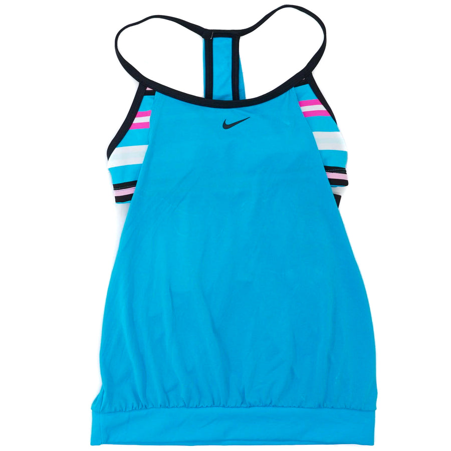 Layered Sport T-Back Tankini