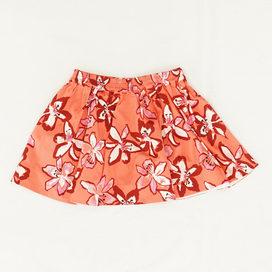 Pink Floral Skirt Size 3T