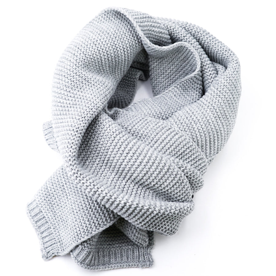 Textured Knit Scarf Size OS