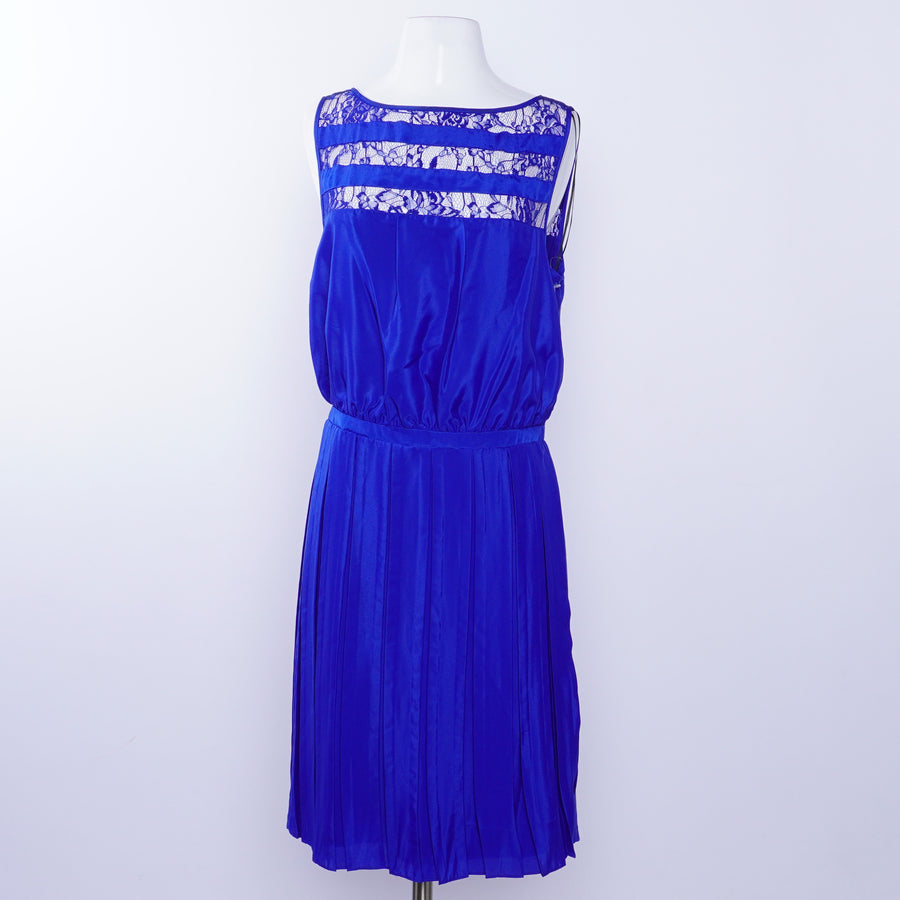 Royal Blue Panel Dress Size 12