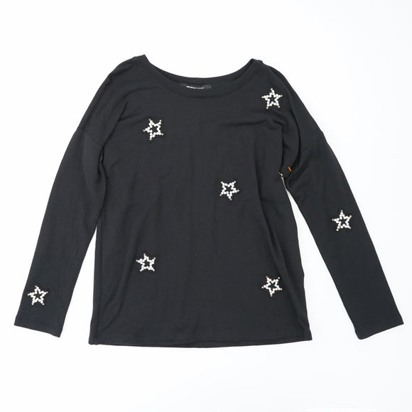 Embellished Star Pullover Size S