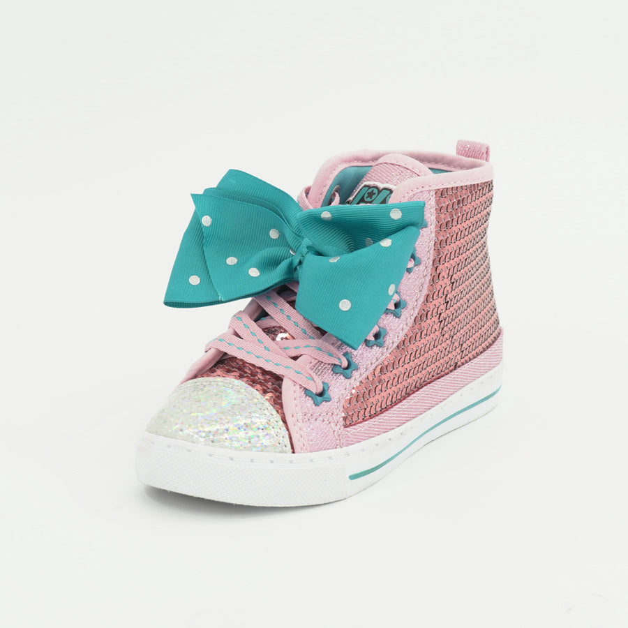 Sequin High Top Sneakers 10T