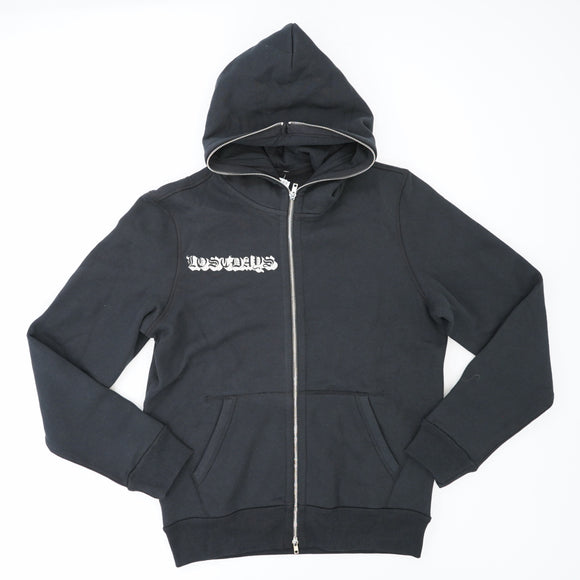 Lostdads Graphic Zip Up Hoodie Size M/L