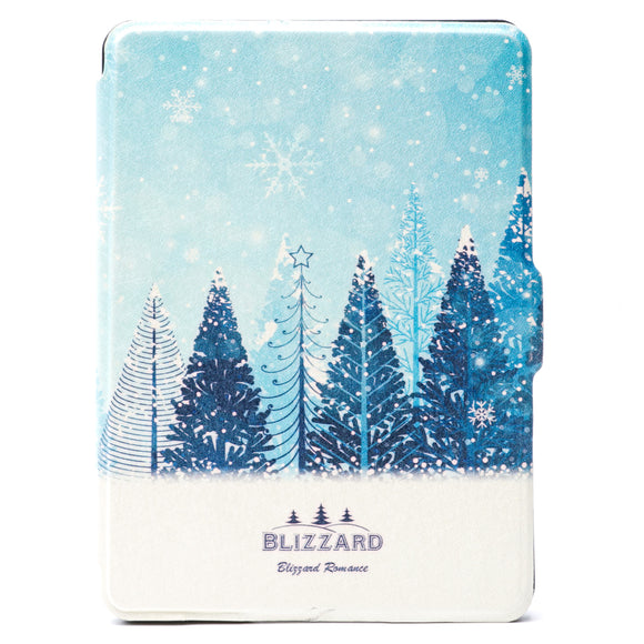 Kindle Voyage Case Blizzard Scene