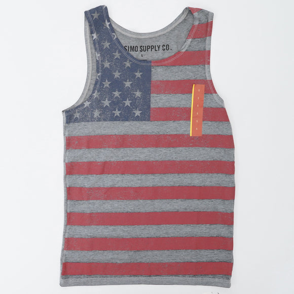 Flag Tank Top Size S