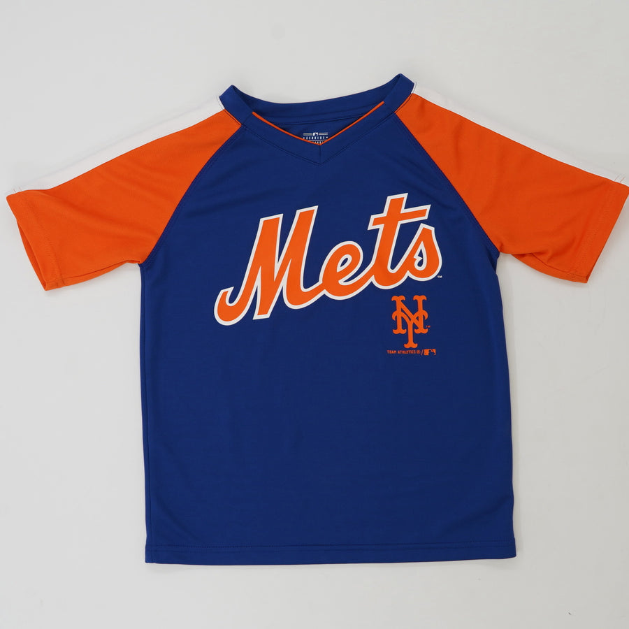 New York Mets Short Sleeve Tee Size 8