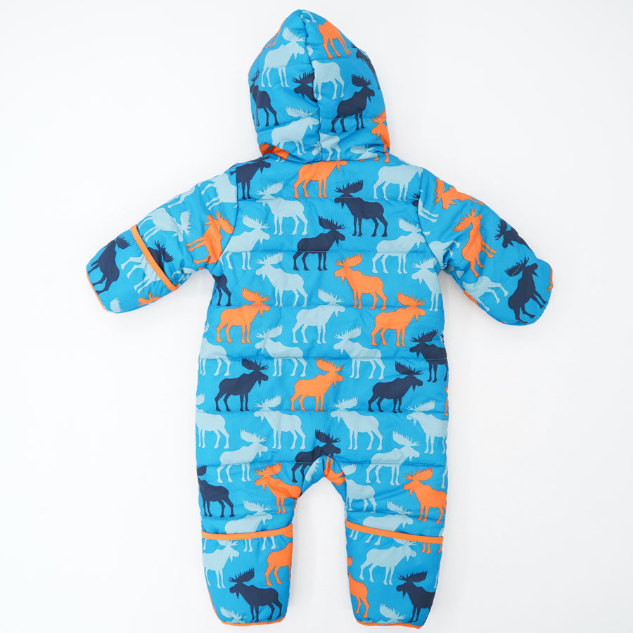 Colorful Moose Winter Bundler Size 6-9M