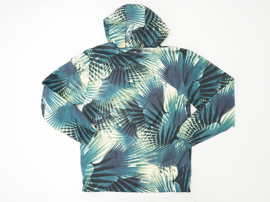 Palm Leaf Pullover Windbreaker Size S