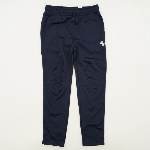 Navy Solid Sweatpants Size M