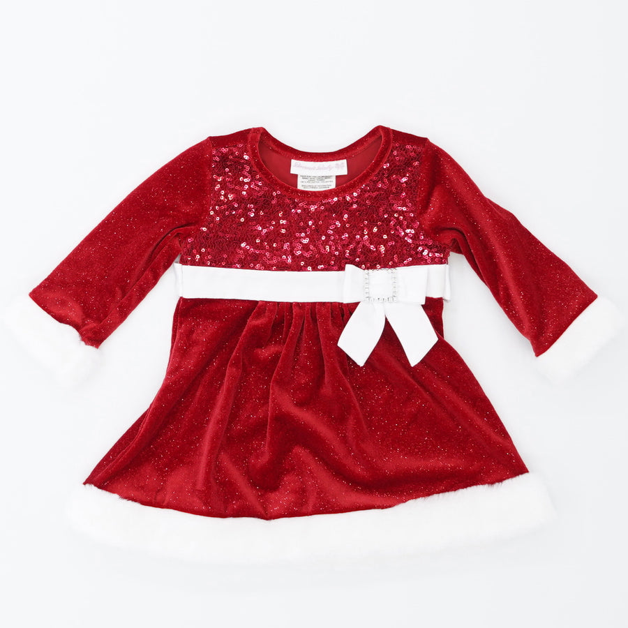Christmas Dress Size 6-9M