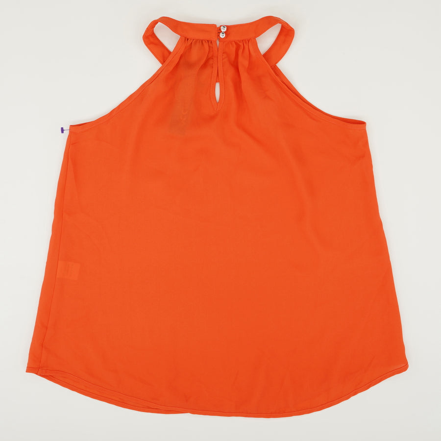Buttoned Keyhole Halter Size XS