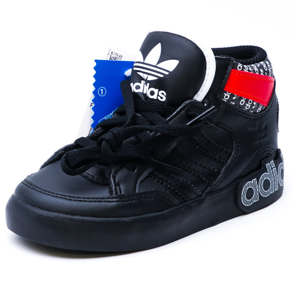 Hard Court Hi I Shoes Black Size 9T