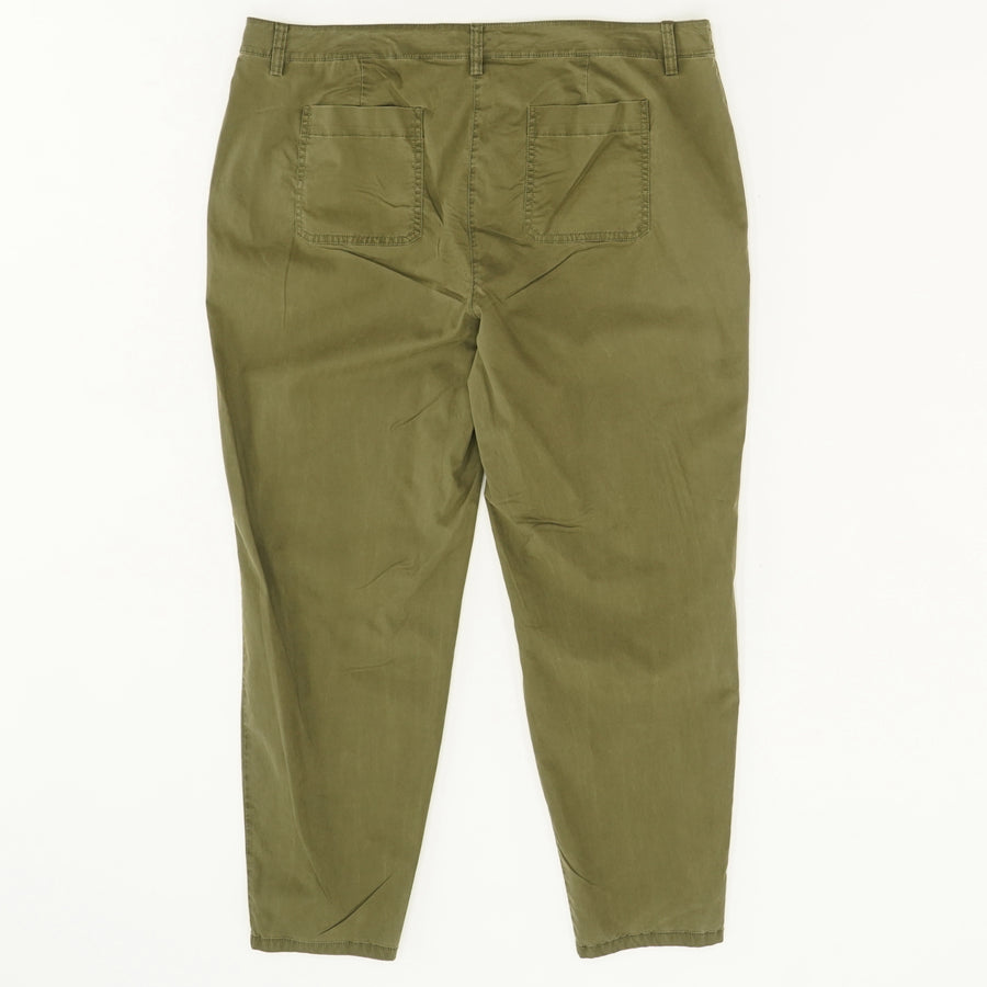 Green High-Rise Pant - Size L