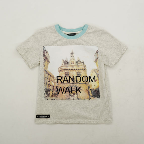 """Random Walk"" Graphic Tee Size 6"