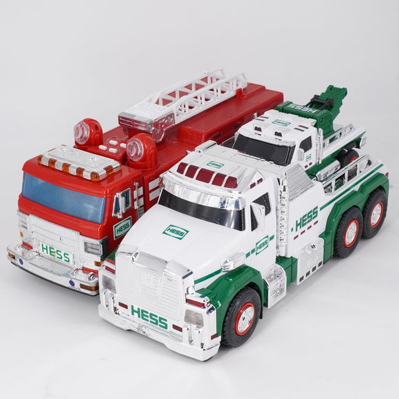 Fire Truck And Tow Truck With Mini Truck