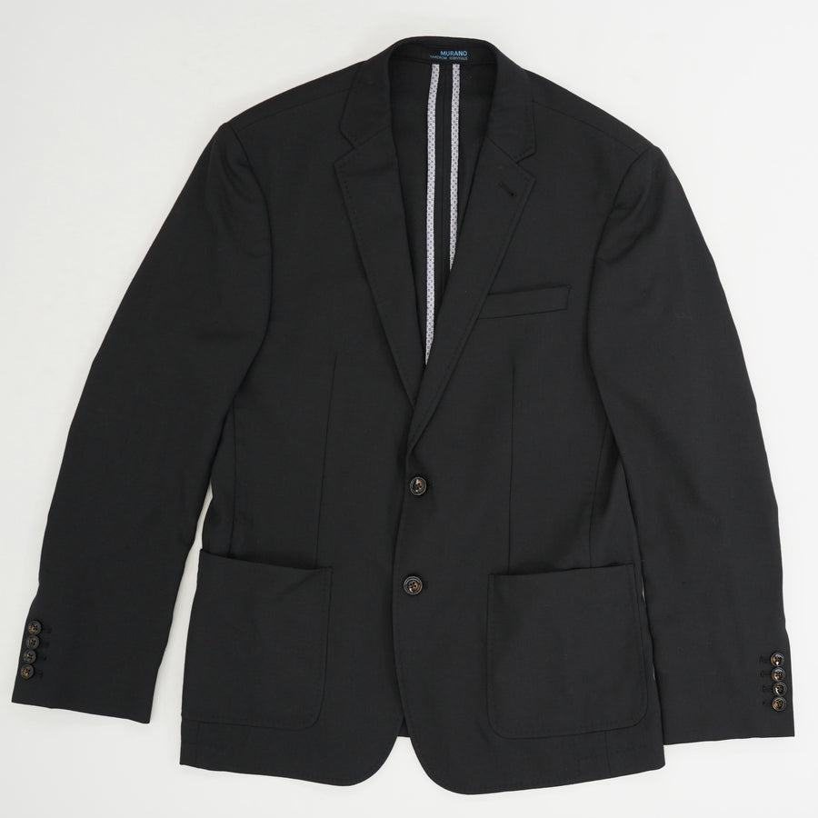 Wool Blend Sports Coat Size L