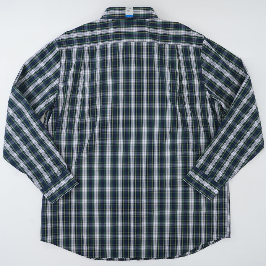 Plaid Easy Care Classic Fit Shirt - Size 17.5/34-35