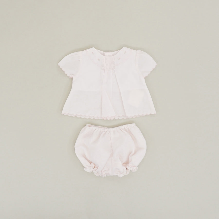 Embroidered Diaper Set - Size NB